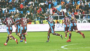 Trabzonspor 70'den sonra açıldı