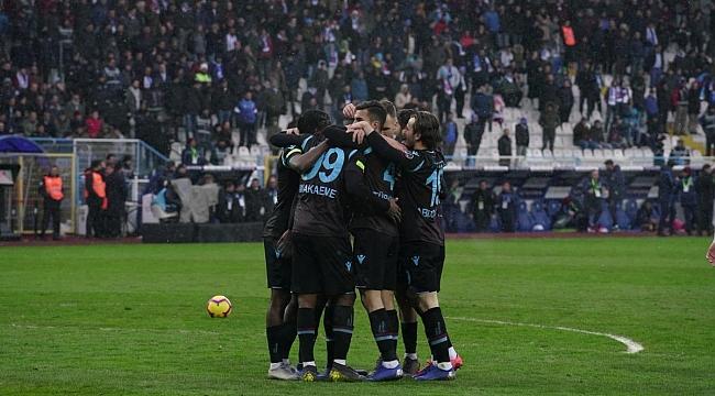 Trabzonspor Erzurum'dan 3 puan çıkardı