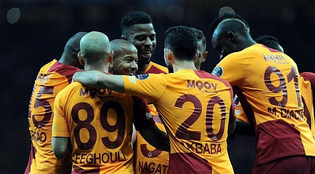 Galatasaray 45 dakikada 3 puanı aldı