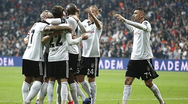 Nefes kesen maçı Beşiktaş kazandı