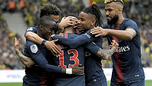 Paris Saint Germain şampiyon
