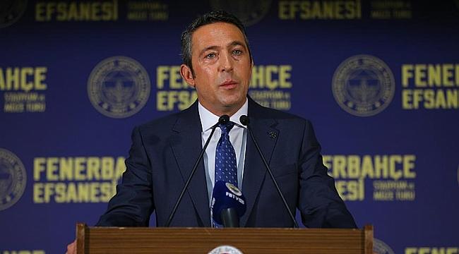 Başkan Ali Koç'tan Ergin Ataman'a sert eleştiri