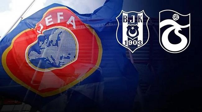 Beşiktaş'a iyi, Trabzonspor'a kötü haber
