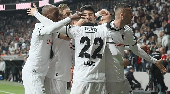 Beşiktaş Aytemiz Alanya'yı 2-1 yendi