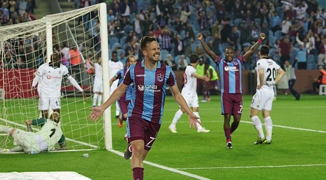 Beşiktaş Trabzon'dan eli boş dönüyor