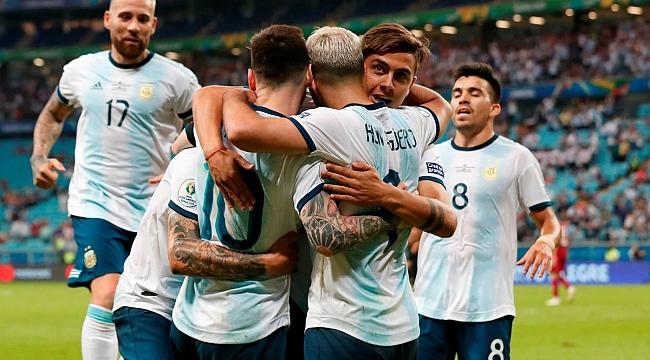 Arjantin kendine geldi