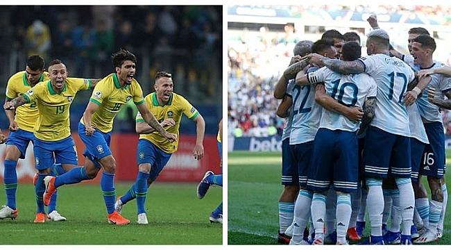 Copa America'da dev eşleşme: Brezilya - Arjantin