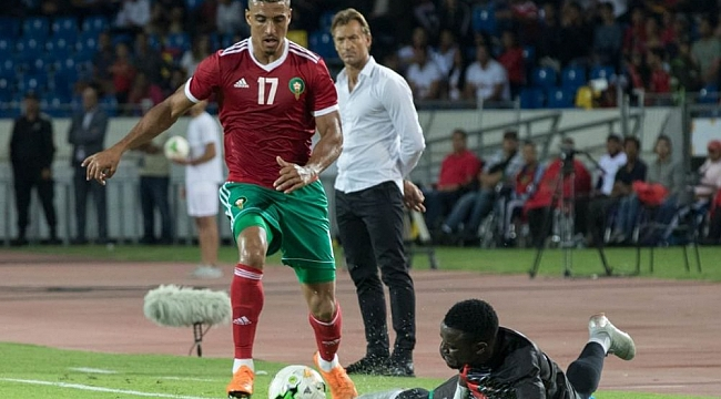 Dirar'lı Fas Namibya'yı tek golle geçti