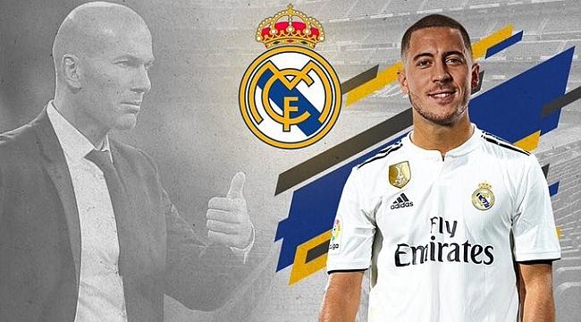 Eden Hazard resmen Real Madrid'te