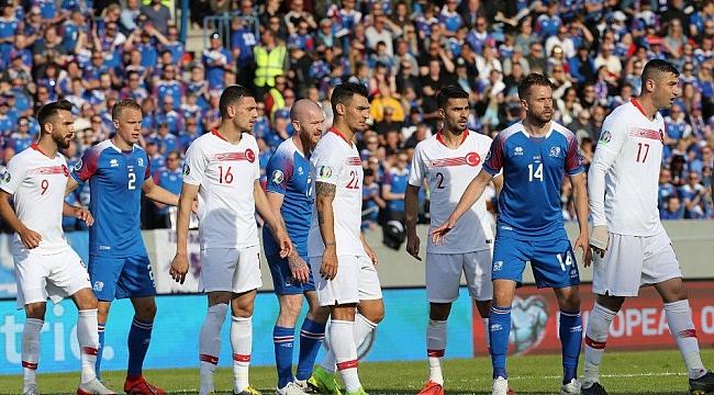 İzlanda'dan puan alamadık: 1-2