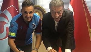 Trabzonspor Yusuf Sarı'yı KAP'a bildirdi