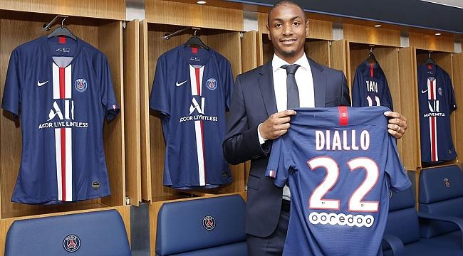 Abdou Diallo Paris SG'de