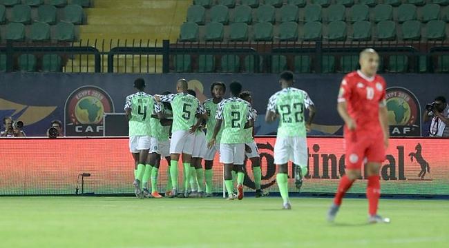 Afrika Kupası'nda üçüncü Nijerya