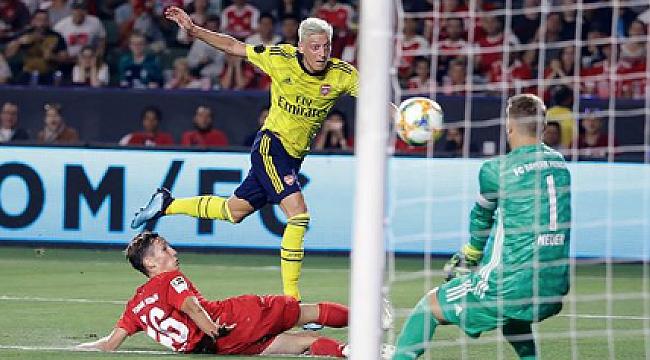 Arsenal Bayern Münih'i 2-1 mağlup etti
