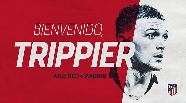 Atletico Madrid Trippier'i transfer etti
