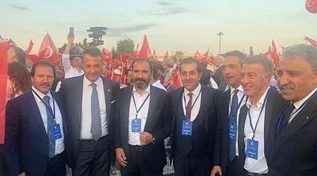Başkanlar 15 Temmuz törenine katıldı
