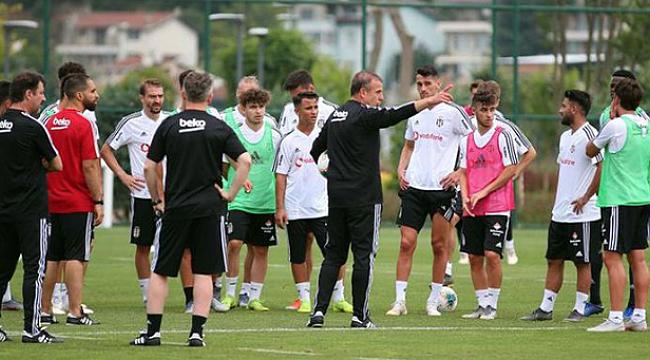 Beşiktaş Avusturya'da ilk antrenmanını yaptı