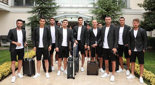Beşiktaş Avusturya'ya gitti