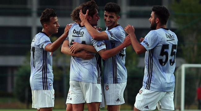 Beşiktaş ilk hazırlık maçını kazandı