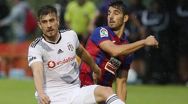 Beşiktaş'tan Eibar karşısında kötü prova