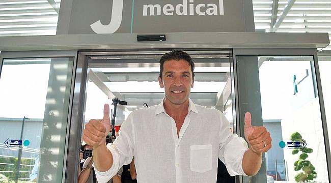 Buffon Juventus'a geri döndü