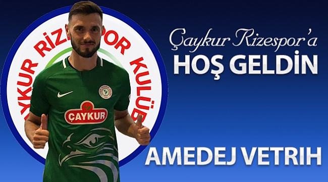 Ç.Rizespor Sloven Vetrih'i kadrosuna kattı