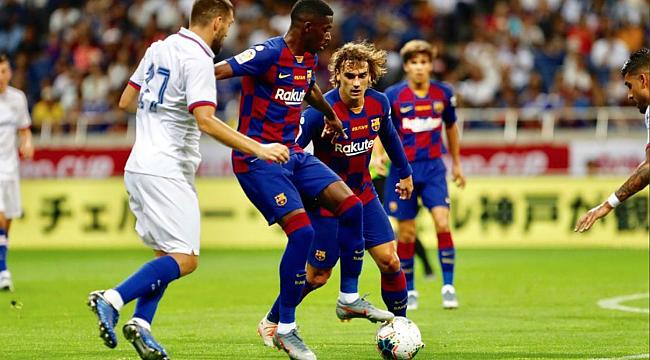 Chelsea Messi'siz Barça'yı devirdi
