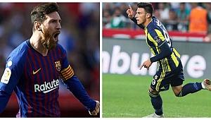 Eljif Elmas'lı Napoli Messi'li Barça karşısında