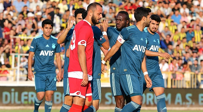 Fenerbahçe Boluspor'u Moses ve Tolga ile geçti