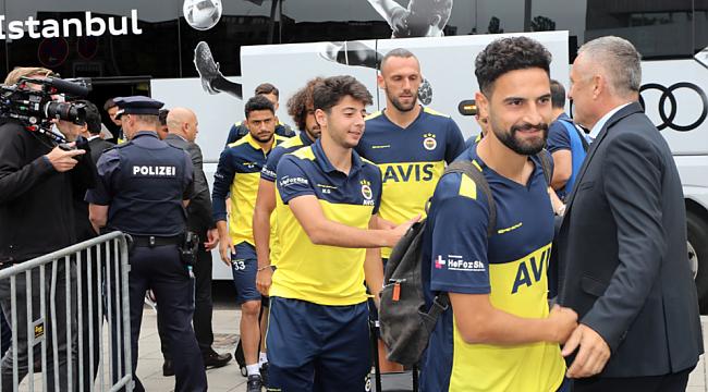 Fenerbahçe kafilesi Münih'te