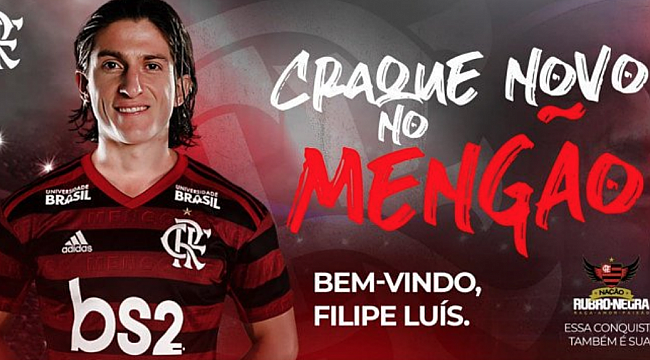 Filipe Luis Diego'nun takım arkadaşı oldu