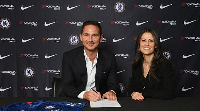 Frank Lampard resmen Chelsea'de