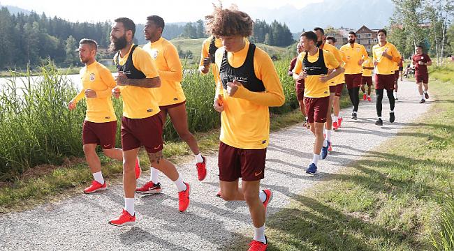 Galatasaray çalışmalarını Seefeld'te sürdürüyor