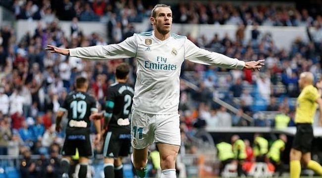 Gareth Bale'e Real Madrid engeli