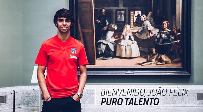 Joao Felix resmen Atletico Madrid'te