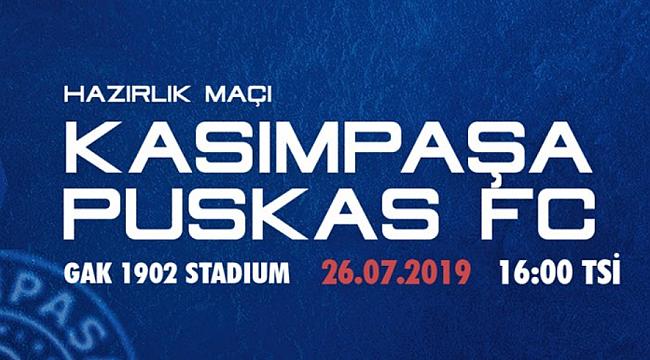 Kasımpaşa Puskas FC'yi son dakikada devirdi