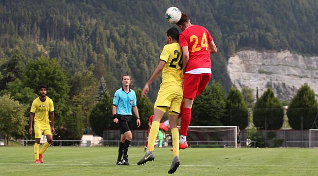 Kayserispor Al Wasl'ı 3-1 mağlup etti