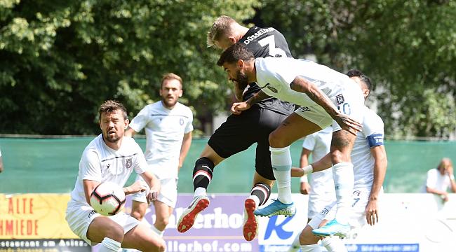 M. Başakşehir Fortuna Düsseldorf'la berabere