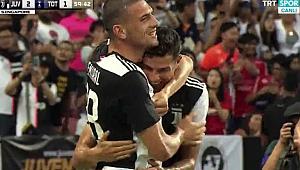 Merih Demiral'lı Juventus Tottenham'a mağlup