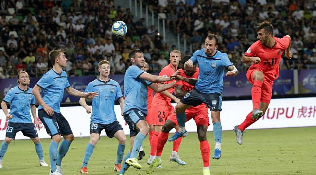 PSG Mbappe, Cavani ve Metehan'la kazandı