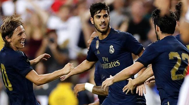 Real Madrid Arsenal'i penaltılarla geçti
