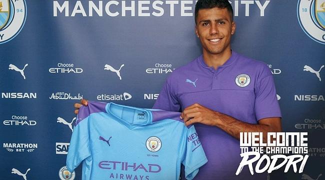 Rodri Manchester City'de