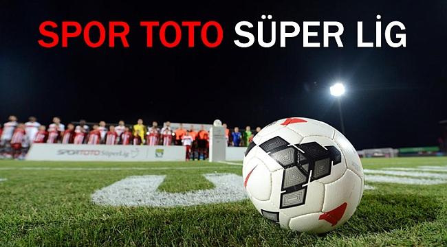 Spor Toto Süper Lig'de 34 Hafta'nın fikstürü