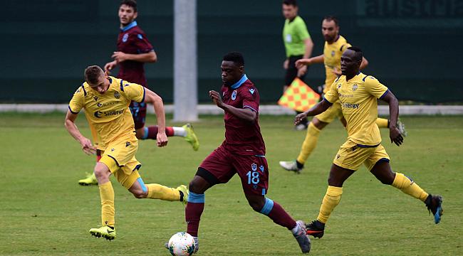 Trabzonspor Verona ile 1-1 berabere kaldı