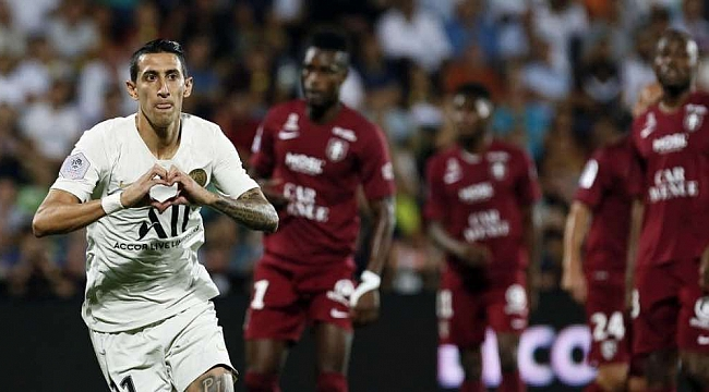 3 yıldızından yoksun PSG Metz'i 2-0 yendi