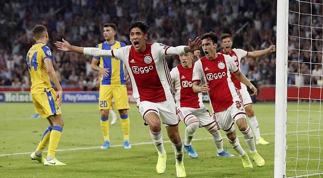 Ajax, Club Brügge ve Slavia Prag da Şampiyonlar Ligi'nde