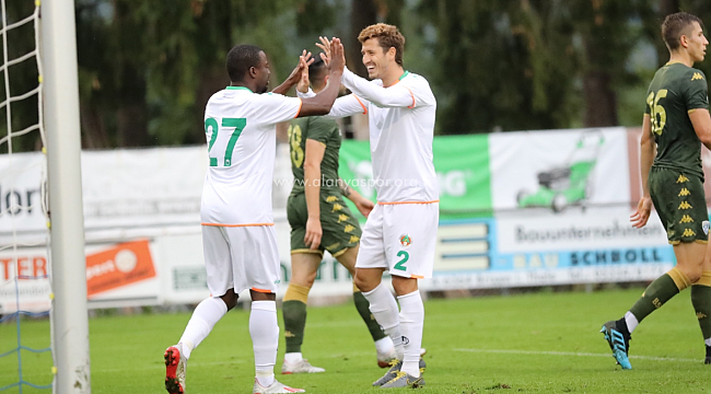 Alanyaspor Brescia'yı 2-0 mağlup etti