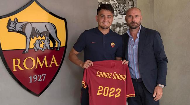 AS Roma Cengiz Ünder'in sözleşmesini uzattı
