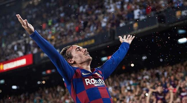 Barcelona Griezmann'la coştu