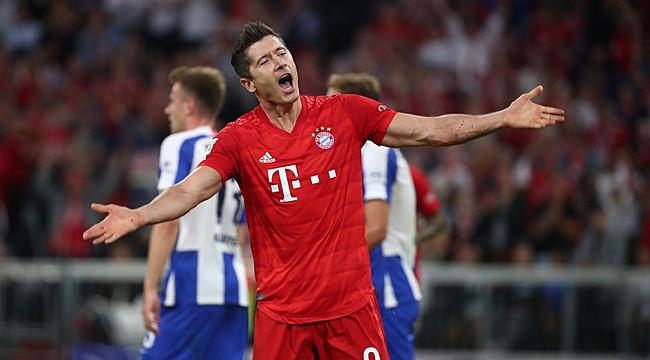 Bayern Münih'e Hertha sürprizi